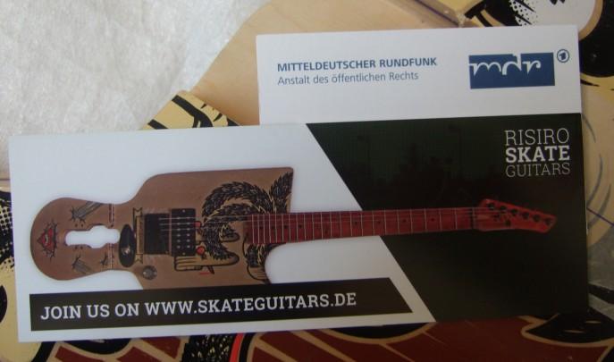 Skateguitars MDR Beitrag
