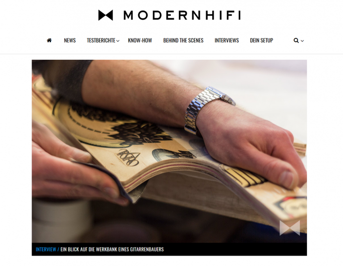 Skateguitars Interview Modernhifi